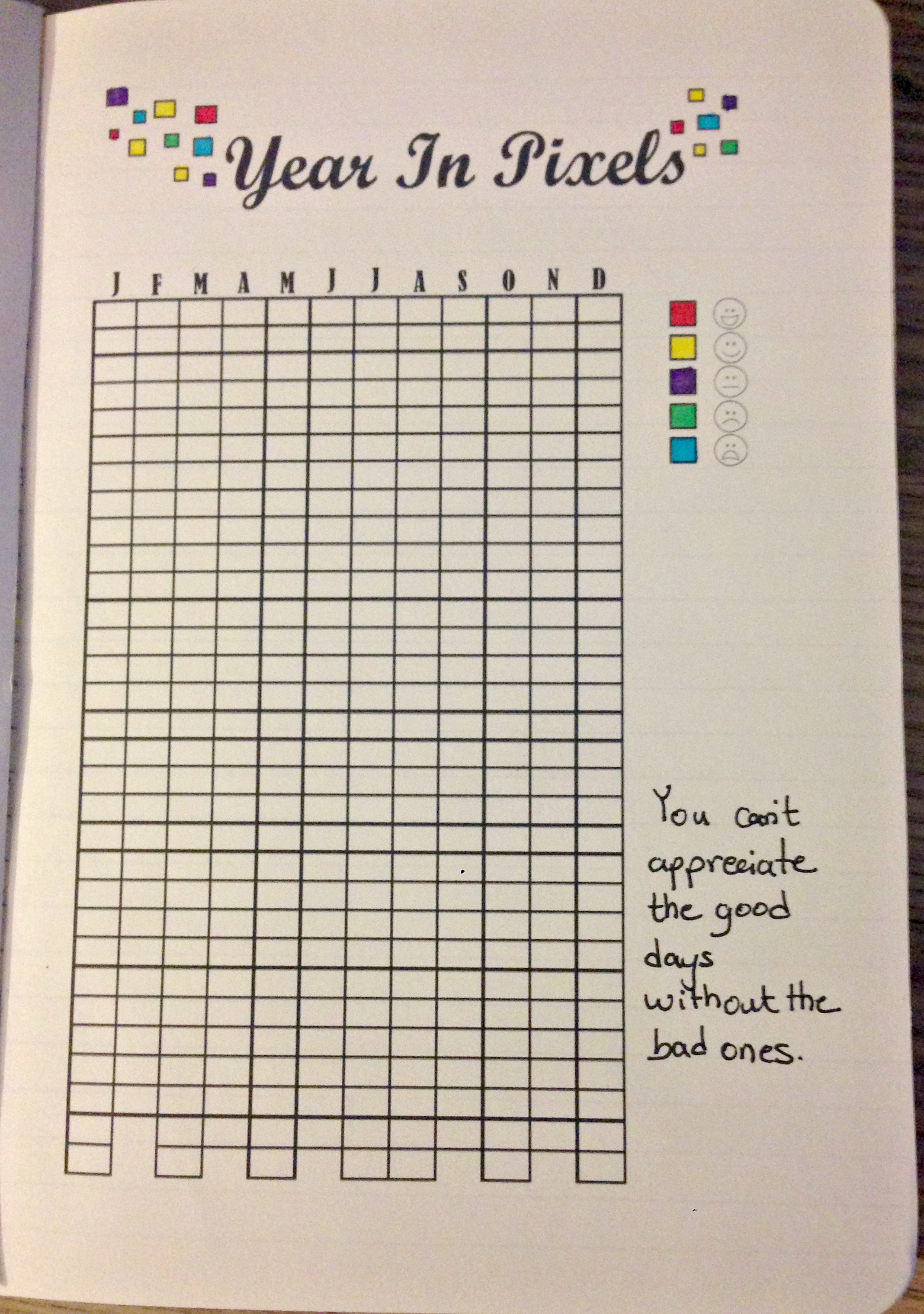 graphic regarding Year in Pixels Printable called 12 months in just Pixels! Do-it-yourself Printables