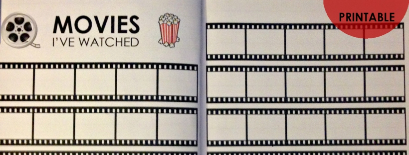 Tracking Films Youve Watched In Your Bullet Journal